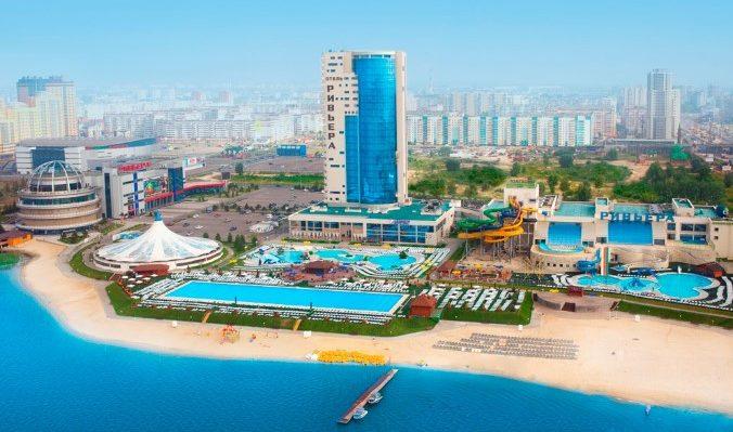 Развлекательный комплекс с аквапарком «Ривьера» в Казани