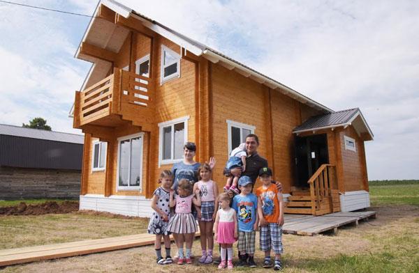 С начала года 142 многодетные семьи Казани получили земельные участки
